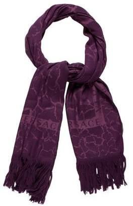 Versace Wool & Silk Scarf