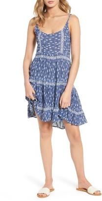 Women's Rails Amber Linen Blend Sundress $168 thestylecure.com