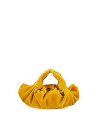 The Row Ascot Two Velvet Top Handle Bag
