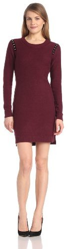 Juicy Couture Women's Studded Shoulders Dress