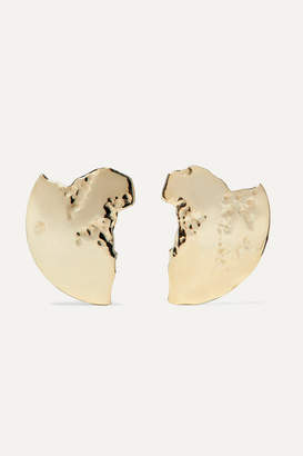 Sebastian Sarah & SARAH & Chasm 10-karat Gold Earrings - one size