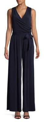 Eliza J Sleeveless Wide-Leg Jumpsuit