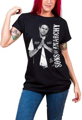 Jax Sons of Anarchy T Shirt Teller new Official Womens Skinny Fit