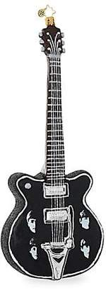 Christopher Radko Euroglass The Beatles Guitar Ornament