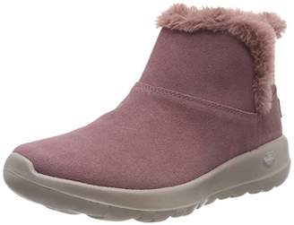 Skechers Women's On-The- On-The-Go - Bundle Up Ankle Boots,8 (41 EU)