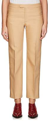 Chloé Women's Virgin Wool-Blend Suiting Twill Straight Trousers