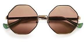 Cutler and Gross Cutler and Gross Women's 51MM Octagon Sunglasses