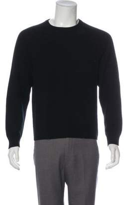 Saint Laurent Cashmere Crew Neck Sweater black Cashmere Crew Neck Sweater