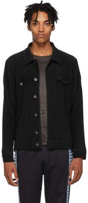 Issey Miyake Homme Plisse Black Tailored Pleats 2 Jacket