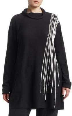 Marina Rinaldi Marina Rinaldi, Plus Size Fine Wool A-Line Sweater