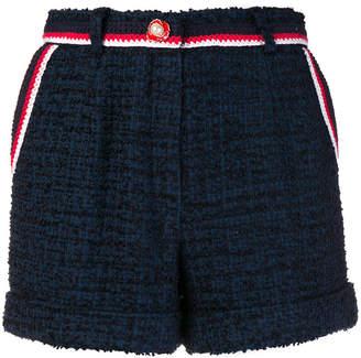 Edward Achour Paris pearl button shorts
