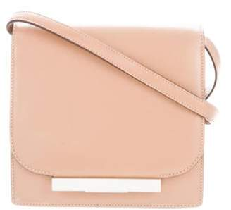 The Row Classic Leather Shoulder Bag Tan Classic Leather Shoulder Bag
