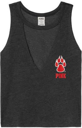 PINK University of New Mexico Choker Neck Muscle Tank