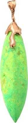 Lucifer Vir Honestus Green Turquoise Pendant