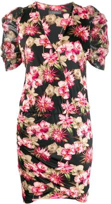 Soallure SO ALLURE fitted floral print dress