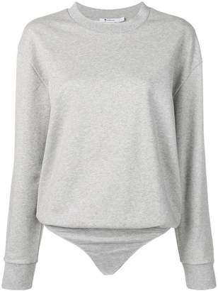 Alexander Wang sweater bodysuit