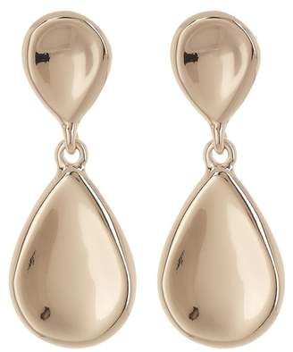 Halogen Molten Teardrop Earrings