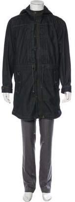 Robert Geller x Levi's Denim Fishtail Coat