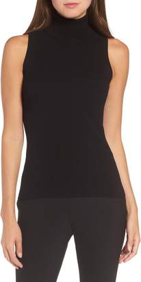 Anne Klein Sleeveless Turtleneck Top