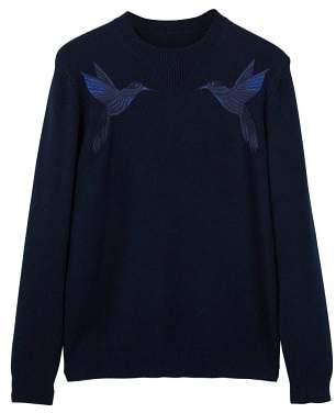 Mango man MANGO MAN Embroidered sweater