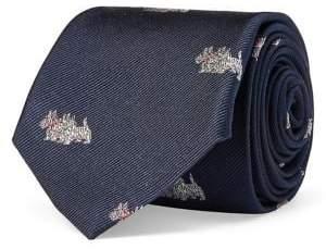 Lauren Ralph Lauren Terrier-Print Silk Tie