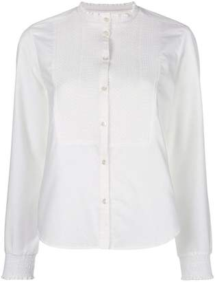 Parker Chinti & band collar shirt
