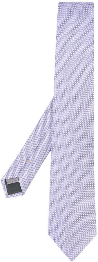 CanaliCanali square weave tie