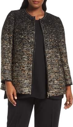 Lafayette 148 New York Karina Ombre Tweed Jacket