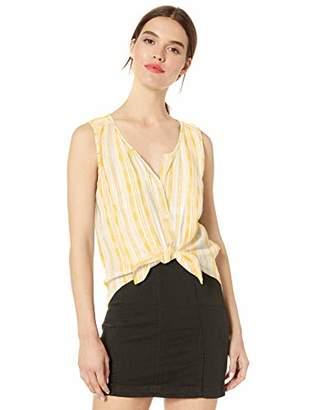 Lucky Brand Women's Striped Sleeveless Shirt,XS
