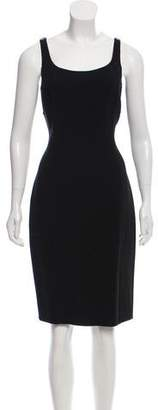 Michael Kors Virgin Wool Sheath Dress