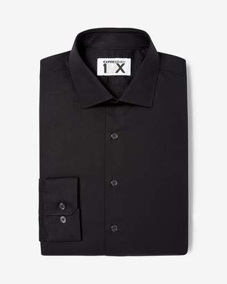 Express Extra Slim Fit Easy Care Square Dobby 1Mx Shirt