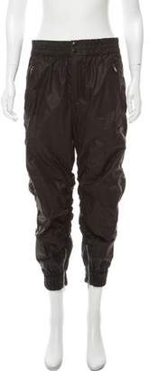 Isabel Marant High-Rise Ruched Joggers