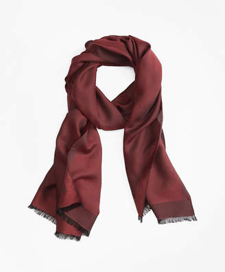 Brooks Brothers Jacquard Textured Scarf