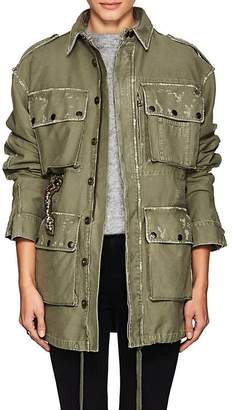 Faith Connexion Women's Embellished Cotton Field Jacket