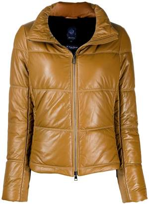 Jacob Cohen quilted high-neck jacket
