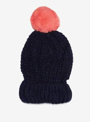 Dorothy Perkins Navy Supersoft Pom Hat