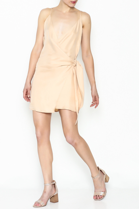 Cotton Candy LA Side Tie Wrap Dress $68 thestylecure.com