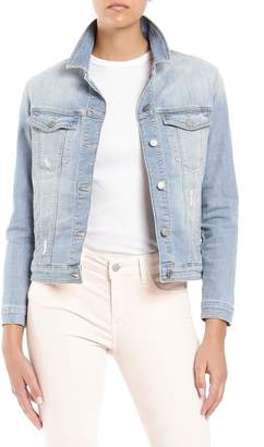 Mavi Jeans Katy Ripped Denim Jacket