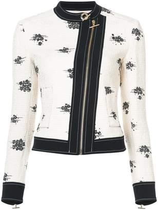Derek Lam 10 Crosby Tweed Moto Jacket