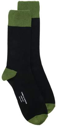 Comme des Garcons colour block socks