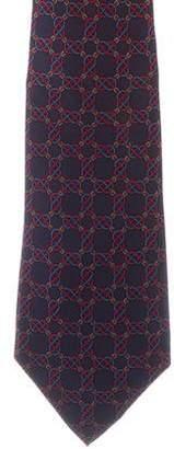 Hermes Silk Belt Print Tie