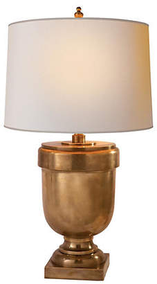 Visual Comfort & Co. Large Trophy Urn Lamp - Brass