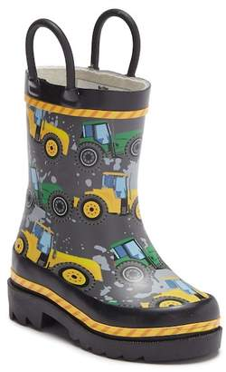Western Chief Tractor Through Rain Waterproof Boot (Toddler & Little Kid)