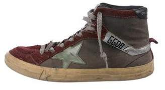 Golden Goose 2.12 Distressed Sneakers
