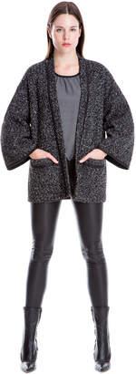Max Studio doubleface knit coat
