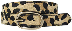Accessorize Leopard Print Jeans Belt