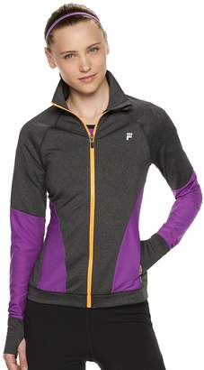 Fila Sport Women's SPORT Mesh Piecing Thumb Hole Jacket