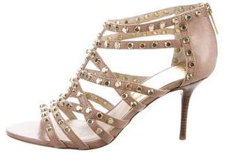 MICHAEL Michael Kors Embellished Caged Sandals