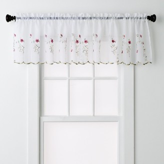 Co United Curtain Loretta Window Valance - 52'' x 18''