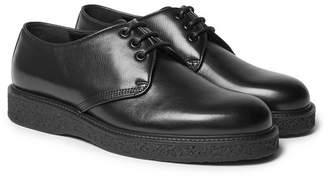 Saint Laurent Hugo Leather Derby Shoes